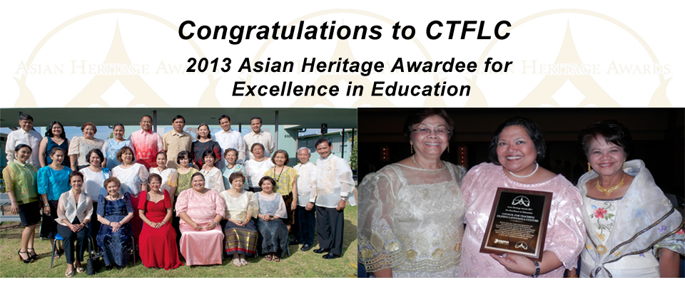 Council for Teaching Filipino Language and Culture - AHA 2013